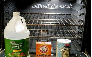 how to clean your oven without chemicals, appliances, cleaning tips, how to