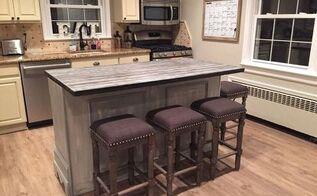 Kitchen Island From Dresser repurposed dresser into custom kitchen island | hometalk