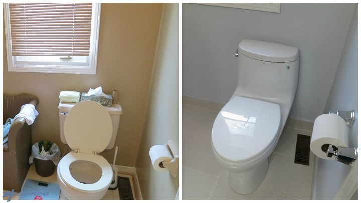 Maximizing bathroom space hometalk - Maximizing space in a small bathroom collection ...
