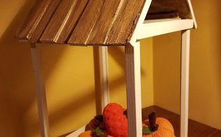 how to build a decorative frame house, crafts, home decor, how to, seasonal holiday decor