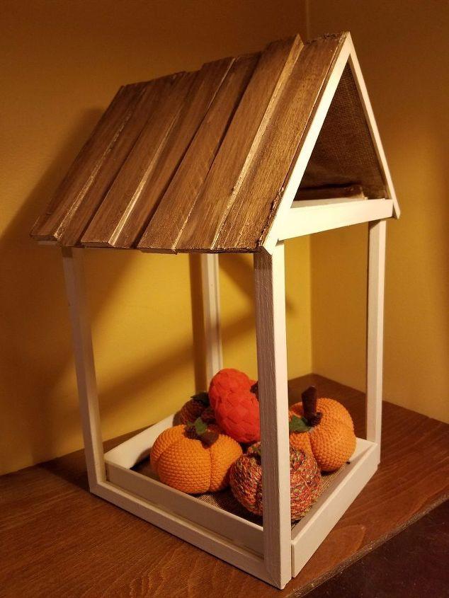 how to build a decorative frame house crafts home decor how to