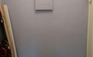 hiding a circuit breaker box in plain sight hometalk. Black Bedroom Furniture Sets. Home Design Ideas