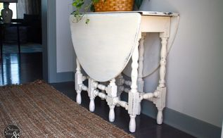drop dead gorgeous drop leaf table, dining room ideas, home decor, painted furniture, painting, rustic furniture