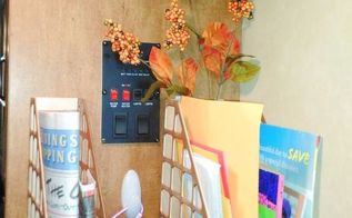 magazine rack hack, how to, painting, repurposing upcycling