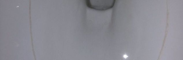 q getting a stain out of toilet bowls , bathroom ideas, cleaning tips, house cleaning, Shows where ring goes around at water level I have even tried turn water off so it can t fill and literally scrubed by hand with comet and left bleach all around No luck HELP
