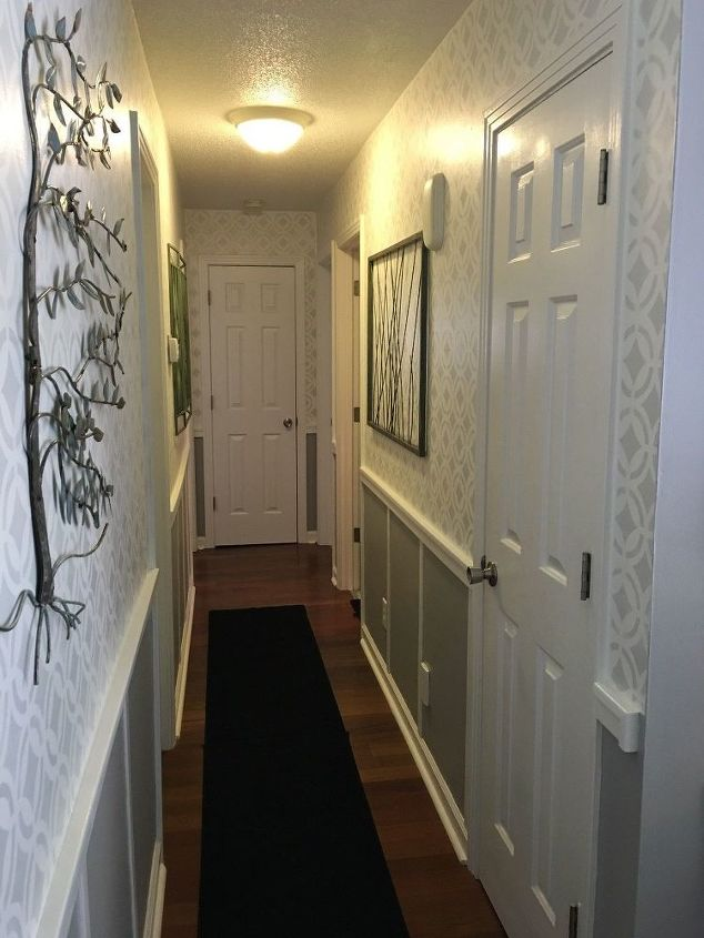 Banishing The Boring Narrow Hallway Hometalk