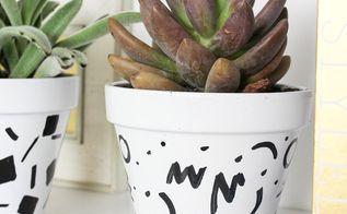 diy flower pots, gardening
