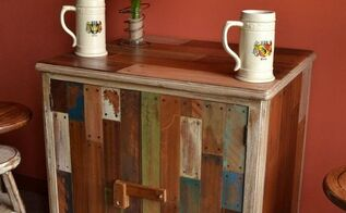 fake reclaimed wood, home decor, painted furniture