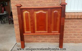 from kitchen cupboards to stunning headboard, home decor, how to, kitchen design, woodworking projects