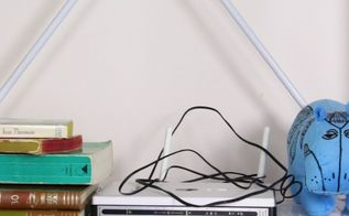 cover up your router, crafts, how to, repurposing upcycling