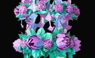 floral chandelier diy, crafts, lighting