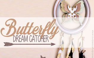 butterfly dream catcher with special meaning, crafts, home decor, pets animals