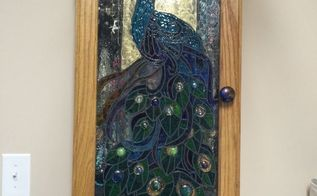 repurposed glass cabinet doors, doors, kitchen cabinets, kitchen design