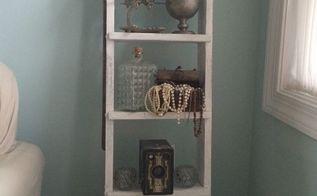 pullman car ladder shelf, shelving ideas