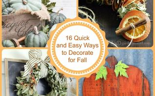 Fall Decor Inspired By Nature Hometalk