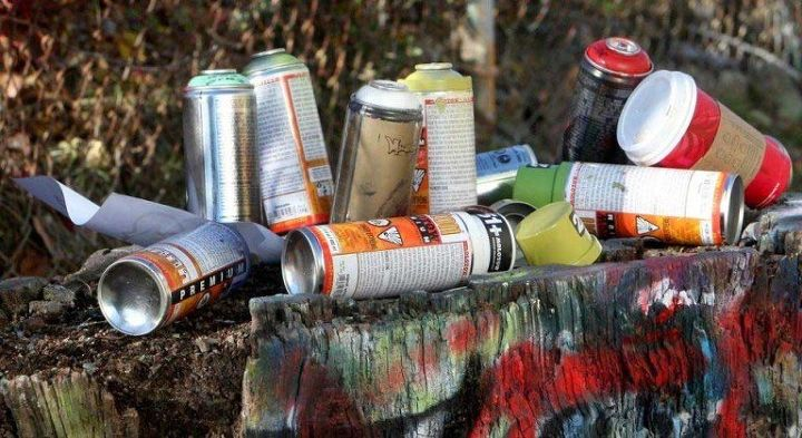 How To Recycle Graffiti Paint Cans Hometalk