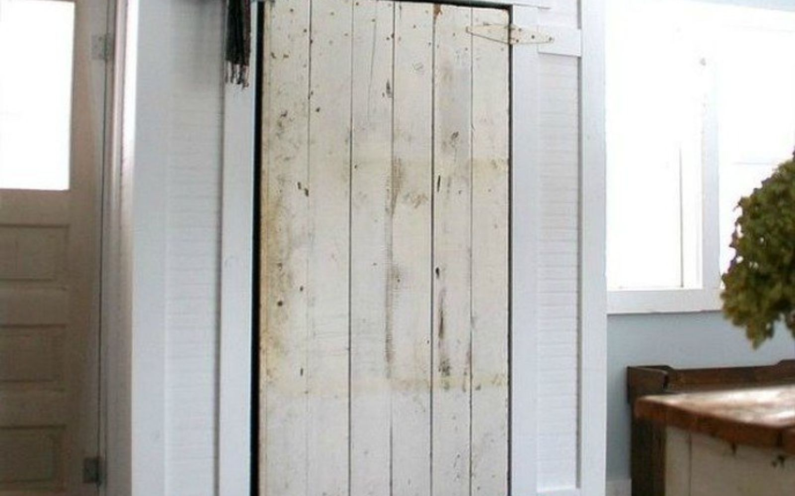 s hide your home s eyesores with these 11 brilliant ideas, home decor, The fix A barn door closet