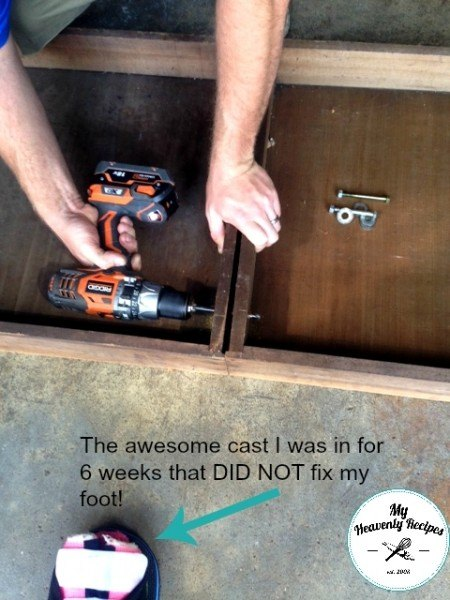Upcycled Entryway Table Made From Old Drawers  Hometalk