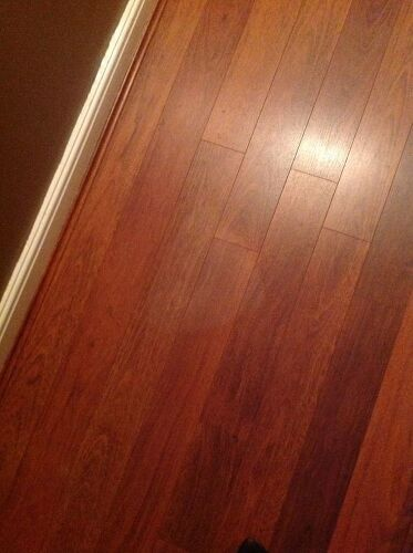 Laminate Floor Repair laminate floor repair Dont Know If You Will Be Able To Make Out The White Heat Mark