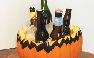autumn party pumpkin bowl, crafts, how to, repurposing upcycling, seasonal holiday decor