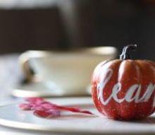 baby pumpkin place cards, bedroom ideas