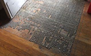 q ruined oak fllor , flooring, hardwood floors, home maintenance repairs, minor home repair