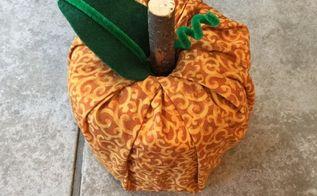 easy fabric pumpkins , crafts, seasonal holiday decor, reupholster