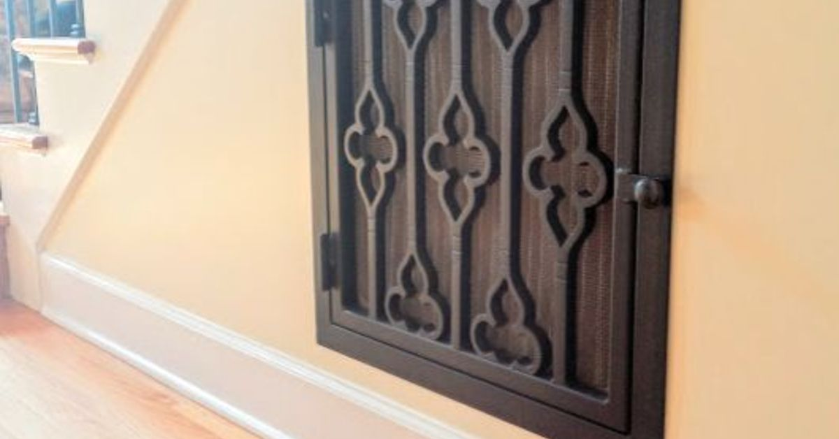 Adding Character With Decorative Vent Covers Hometalk