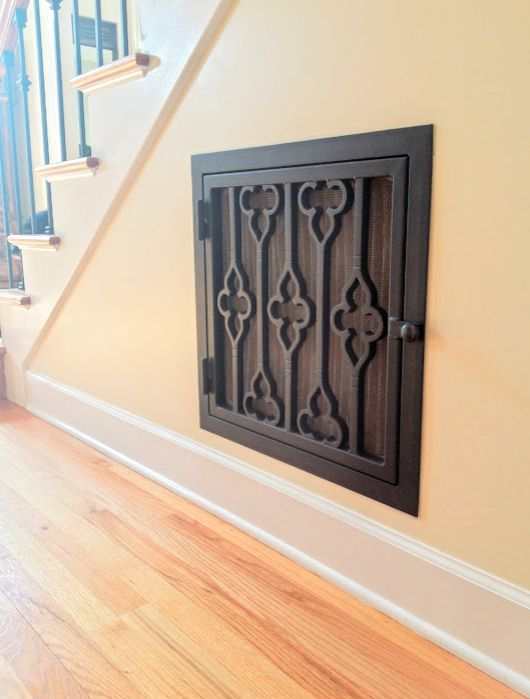 adding character with decorative vent covers home decor home improvement hvac kitchen - Decorative Vent Covers