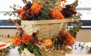 stunning fall centerpiece for under 10, home decor, seasonal holiday decor