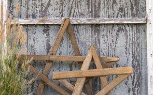 easy diy tobacco stick stars and gates, crafts, fences