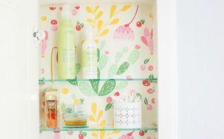 medicine cabinet refresh, bathroom ideas, kitchen cabinets, kitchen design, small bathroom ideas, wall decor