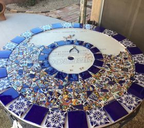 Exceptional Mosaic Tile Patio Table, Home Decor, Home Improvement, Outdoor Furniture,  Outdoor Living