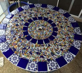 Mosaic Tile Patio Table, Home Decor, Home Improvement, Outdoor Furniture,  Outdoor Living