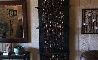 lighted shelving unit, shelving ideas