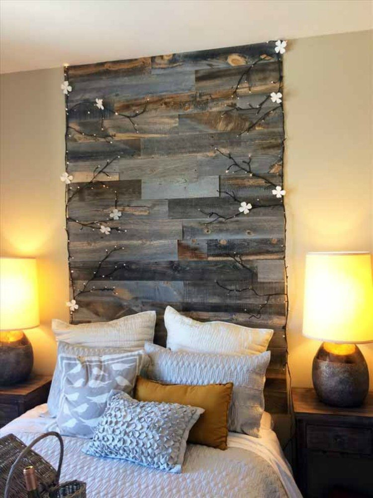 Build a distressed wooden headboard for cheap. 10 Cheap and Easy Home Improvement Hacks You ll Wish You d Seen