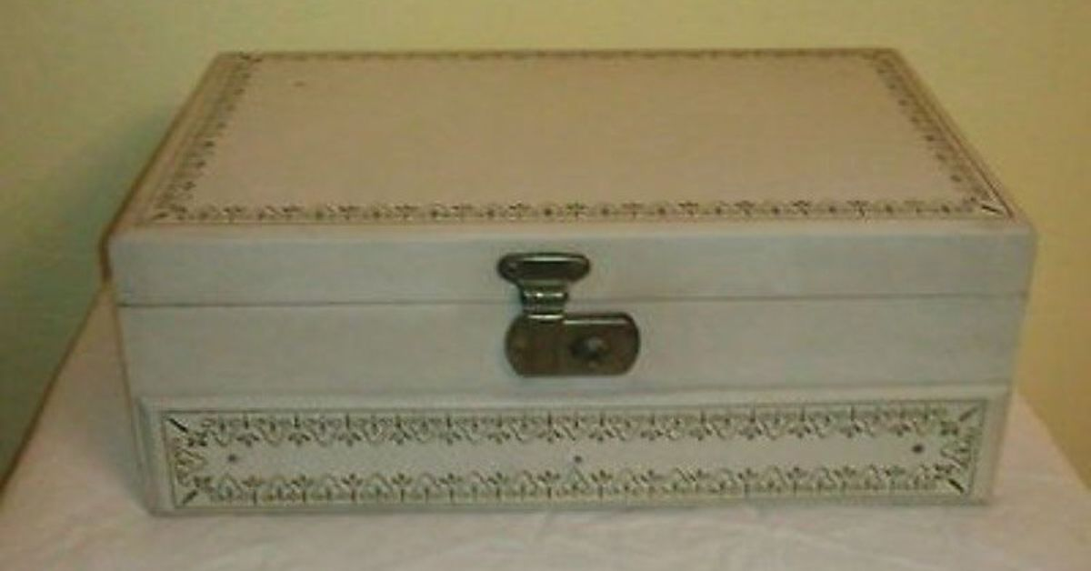Jewelry box makeover hometalk for Old jewelry box makeover