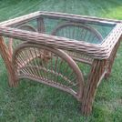 replacing table top glass for free , outdoor furniture, painted furniture, pallet, woodworking projects