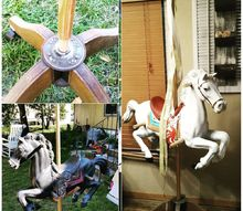 upcycled jumpy horse, bedroom ideas, closet, crafts, fireplaces mantels, garages, tools
