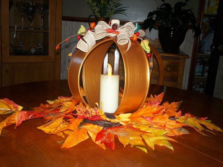 Quick and easy thanksgiving centrepiece hometalk
