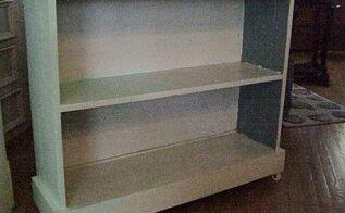 re purposed bookshelf, shelving ideas, storage ideas
