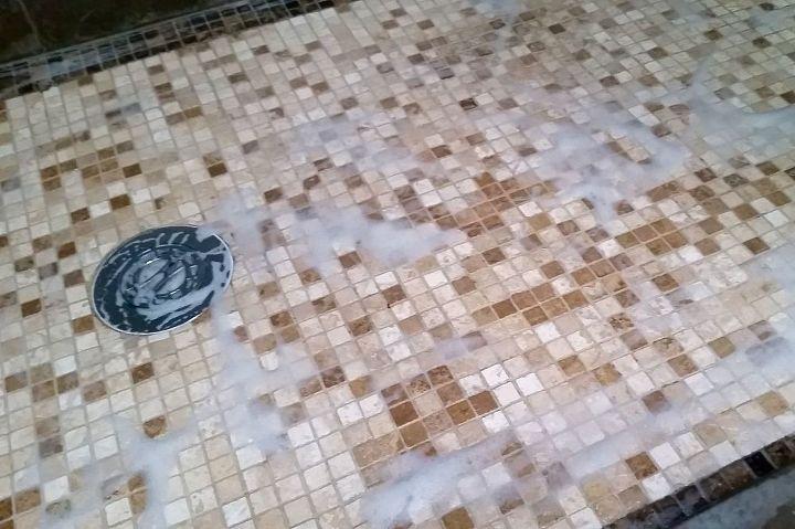 swifter hack 4 ingredient diy bathroom tile grout cleaner bathroom
