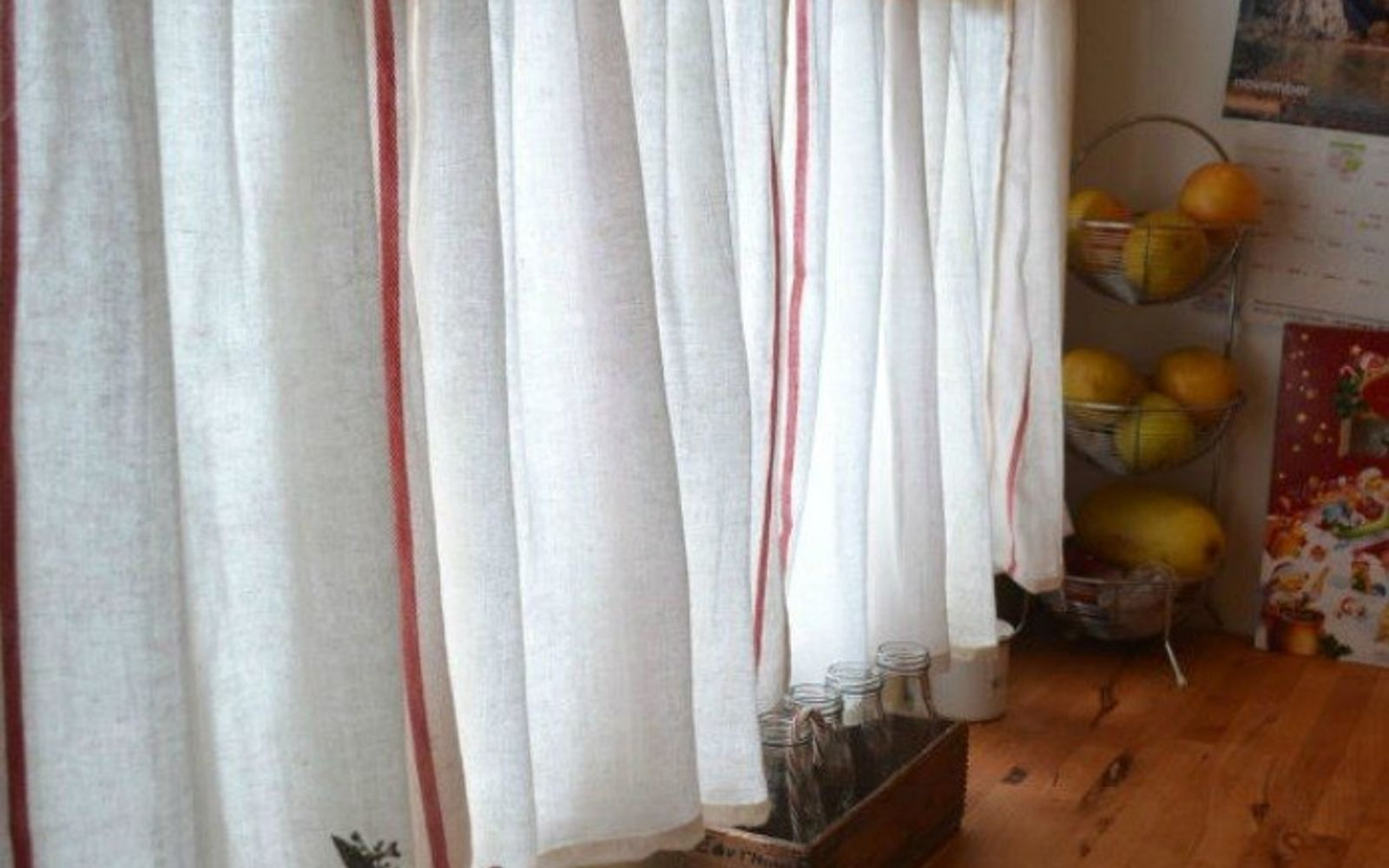 15 window curtain ideas for under  15