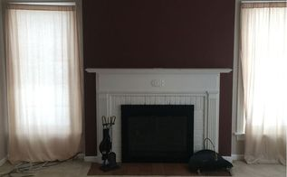 quick and easy fireplace update, fireplaces mantels, home decor, home improvement, living room ideas, pallet, wall decor, Where we started
