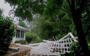 q pergola i know what wasn t done correctly, Hurricane in Florida