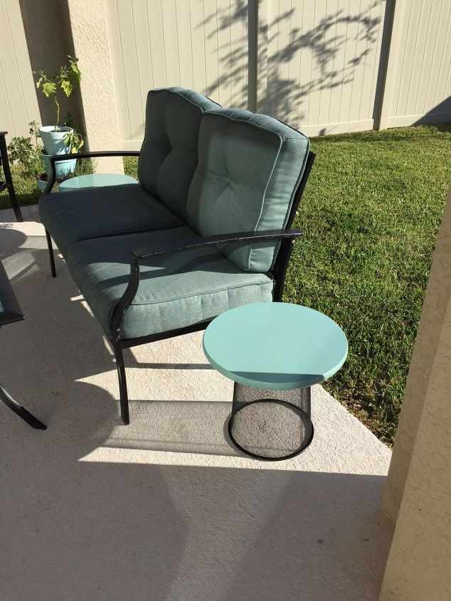 Trash To Treasure Patio Tables Hometalk