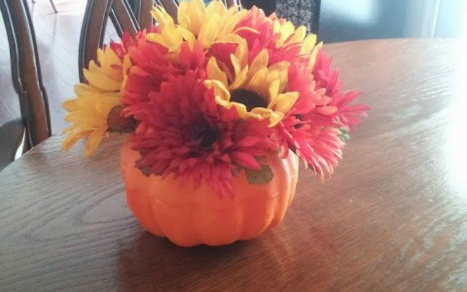 s why everyone is buying artificial flowers for the holidays, gardening, They fit perfectly in pumpkin planters
