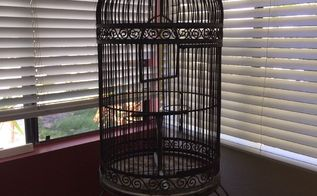 q want to restore vintage bird cage , cleaning tips, home decor, house cleaning