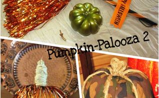 more cheap easy pumpkin projects, pallet