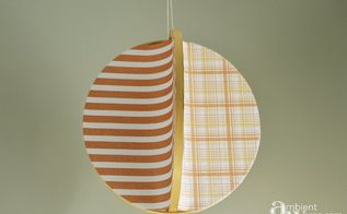 4 sided embroidery hoop mobile using scrapbook paper, crafts, how to